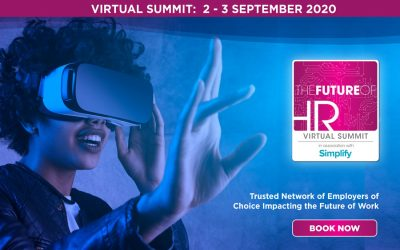 It's Almost Time: The Future of HR Virtual Summit & Awards